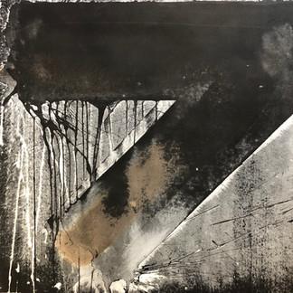 Michael Morgner | o.T. | 1986 | Lavage auf Bütten | 52 x 52 cm | 750 Euro