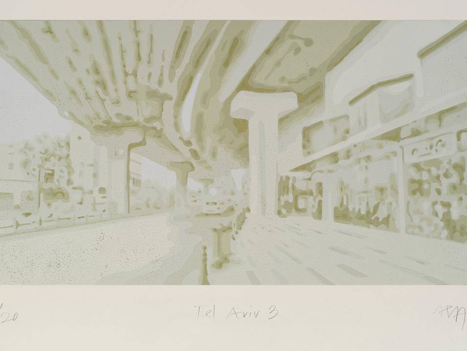Harald Alff | Tel Aviv 3 | FHS | 2012 | Papierformat 50 x 70 cm | Grafikformat 31,5 x 60 | 180 Euro