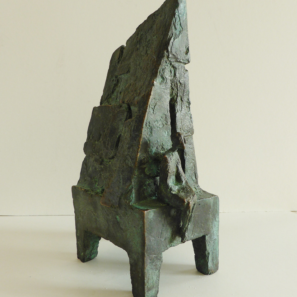 Michael Jastram | Fisherman's House | 1999 | Bronze | 12/22 | 138 x 28 x 49 cm | 3800 Euro