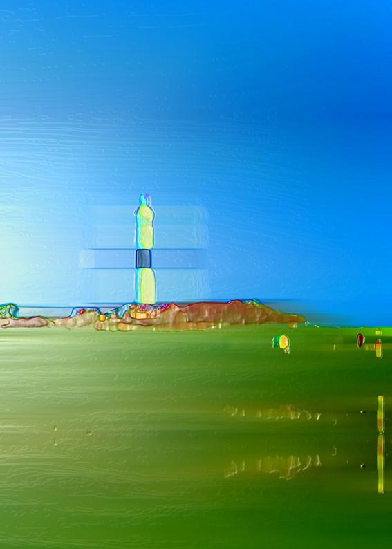 Anna Kasten | Leuchtturm Sylt | 2020 | Inkjet Karton | 70 x 50 cm | 600 Euro exkl. Rahmen (Vormerkung)