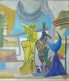 Veit Hofmann | Poesia | 2013 | Ölauf Leinwand | 140 x 120 cm | 6200 Euro