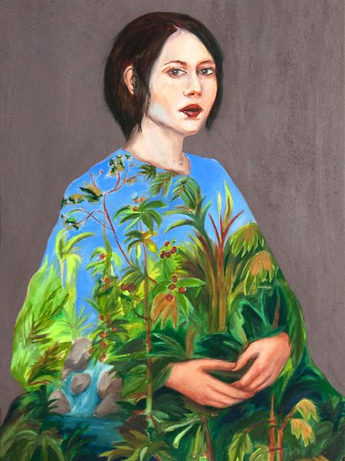 KatharinaBaumgärtner | Inside | 2016| Öl aufLeinwand | 70 x 53 cm | verkauft