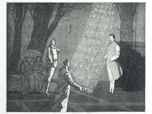 Vor König Heinrichs Zelte
