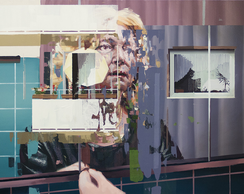 Franz Ehrenberg | Gala | 2015 | Öl auf Leinwand | 118 x 155 cm | 5400 Euro