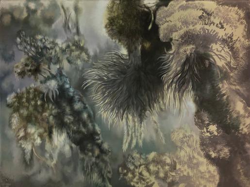 Isabelle Dutoit | Historische Landschaft | 2017 | Öl auf Leinwand | 30 x 40 cm | 1900 Euro