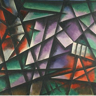 Geogr Paul I Komposition 358 I 1963 I Öl auf Pappe I 70 x 90 cm I 3200 Euro