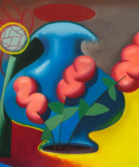 Philipp Weber | Singulär | 2014 | Acryl auf Leinwand | 73 x 61 cm | 1500 Euro