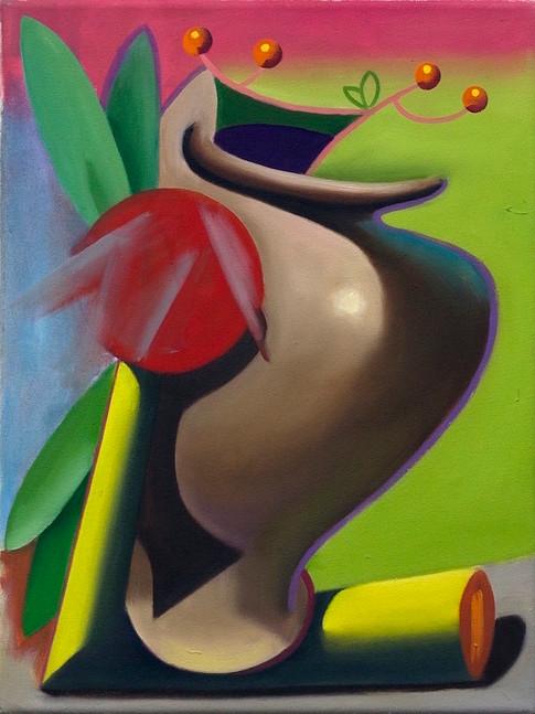 Philipp Weber | Funktion | 2015 | Acryl auf Leinwand | 28 x 37 cm | 700 Euro