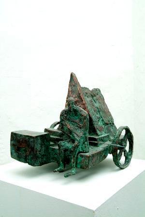 Michael Jastram | Motorhome II |2002 | Bronze | 28 x 30 x 30 cm | 8800 Euro