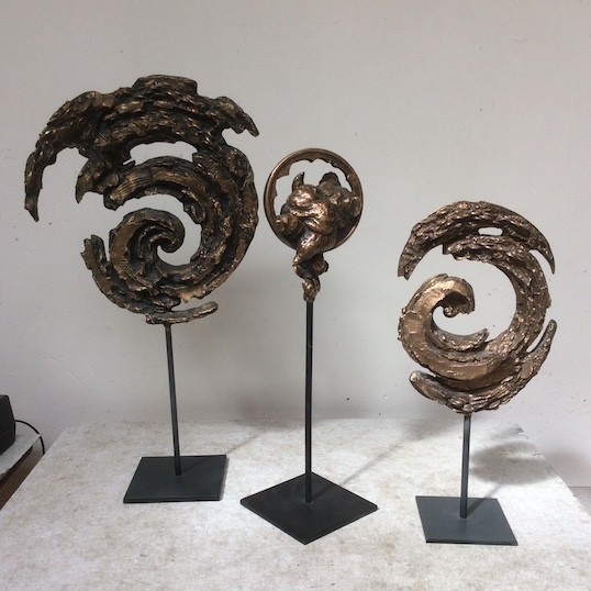 Jochen Schamal   Triologie   Bronze