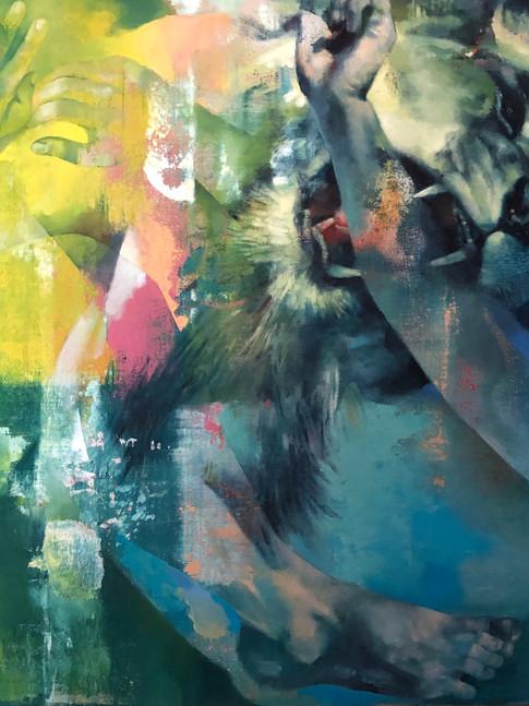 Isabelle Dutoit | Dompteur | 2011 | Öl auf Leinwand |62 x 79 cm |4900 Euro