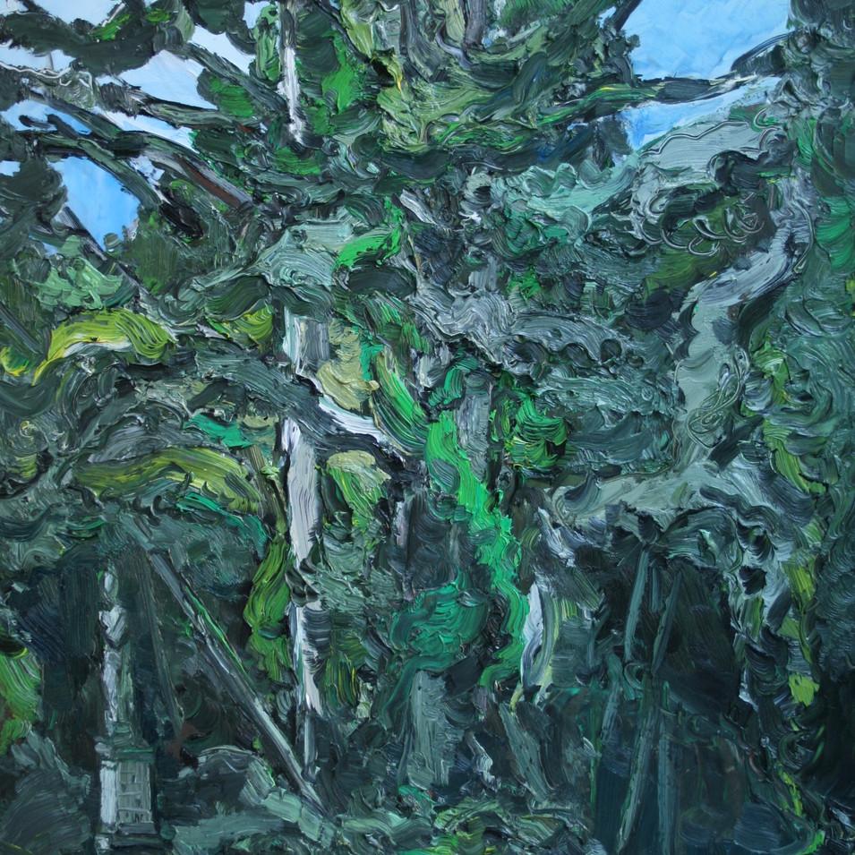 Hubertus Giebe   o.T.   2016   Ölfarbe auf Leinwand   61 x 50,5 cm   3900 Euro