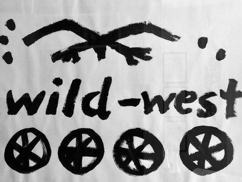 A.R. Penck | wild-west | 1992 | 50 x 73 cm | Anfrage