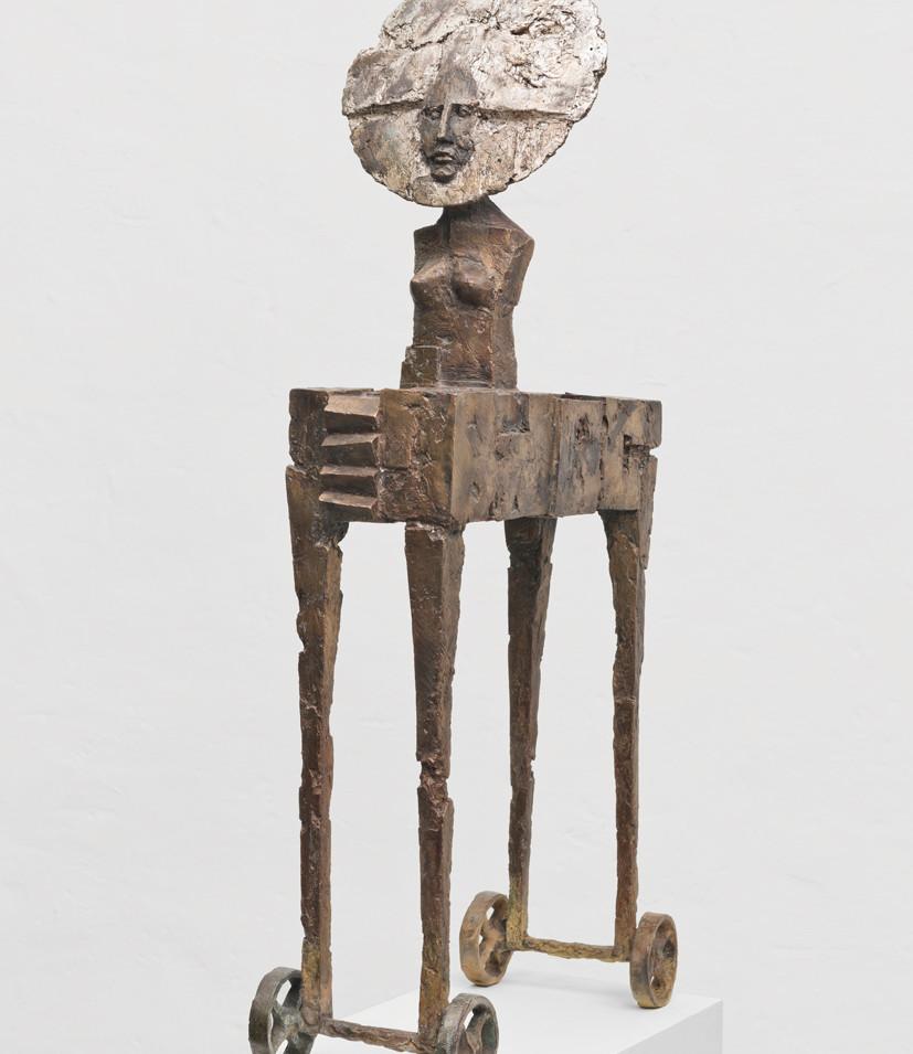 Michael Jastram |La Luna Wagen II | 2017 | 92 x 45 x 24 cm | 12,5 kg | 16800 Euro