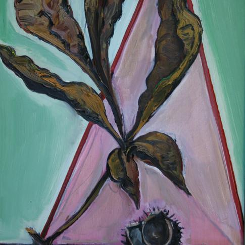 Hubertus Giebe | o.T. | 2005 | Ölfarbe auf Leinwand | 60 x 40 cm | 3500 Euro