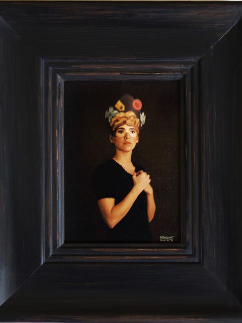 Anna Herrgott | FIVE WOMEN - Miss in Black m.R. | 2008 | Fotografie | 33 cm x 28 cm | Auflage 5