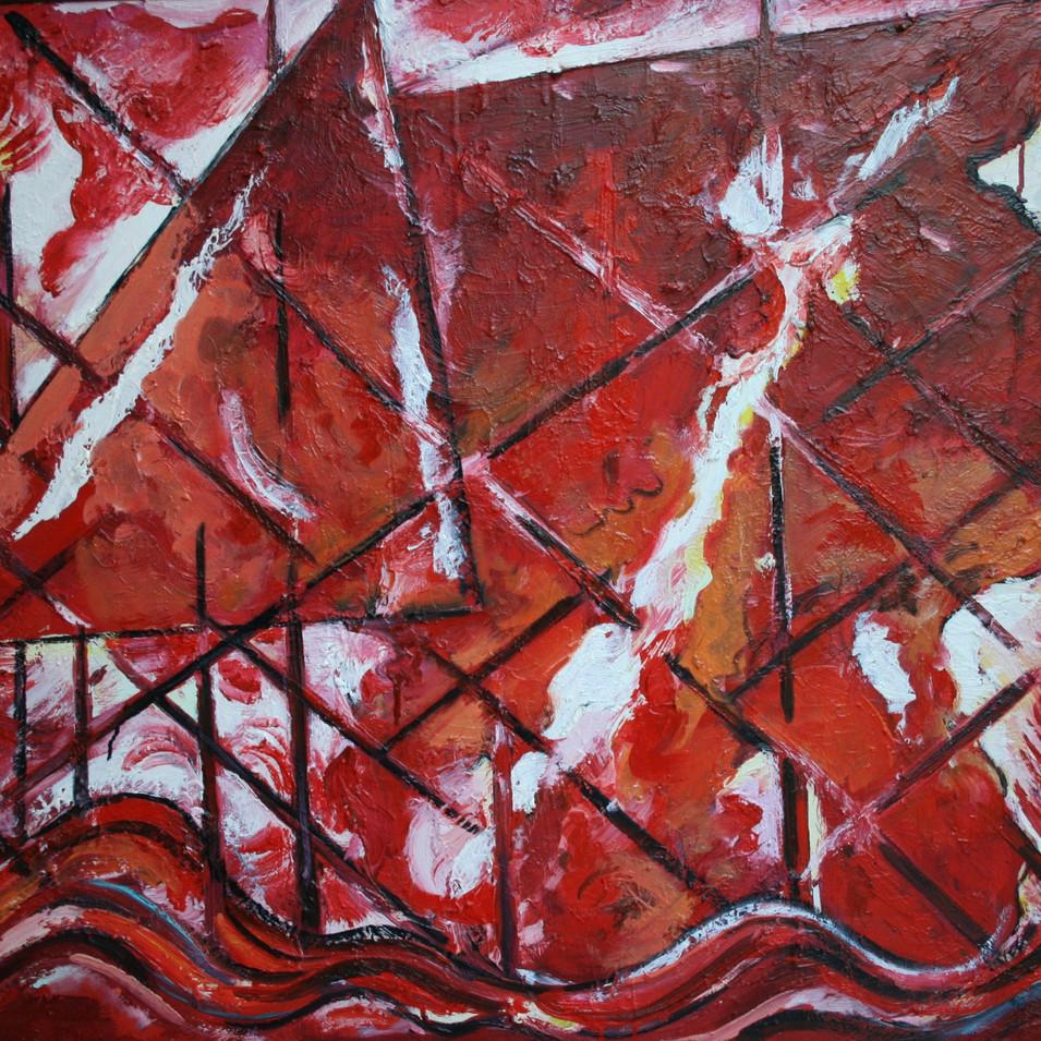 Hubertus Giebe   o.T.   o.J.   Ölfarbe auf Leinwand   80 x 100 cm   6300 Euro
