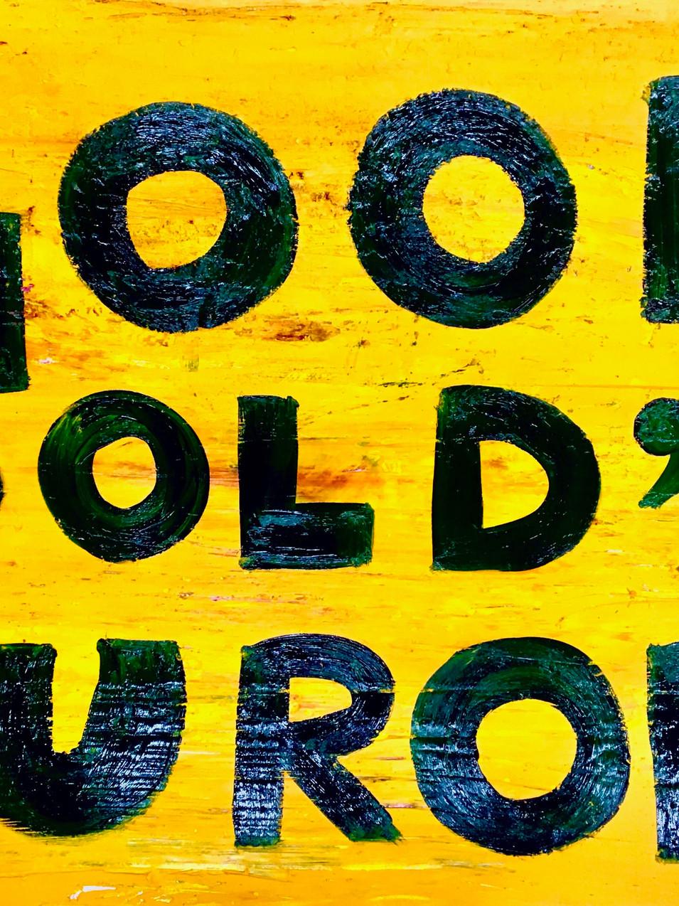 "Oliver Kossack | Good ""old"" Europe | Öl auf Leinwand | Öl auf Leinwand | 50 x 70 cm | 2700 Euro"