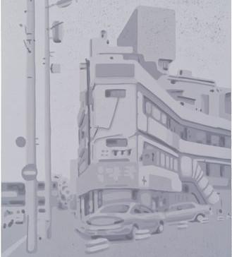 Harald Alff | Cheongju | Farbholzschnitt | 2013 | Papierformat 60 x 42 cm | Grafikformat 48 x 32 cm | 150 Euro