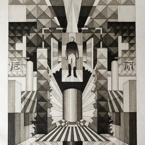 Harald Gallasch | o.T. | o.J. | Zeichnung |59 x 42 cm | 1200 Euro