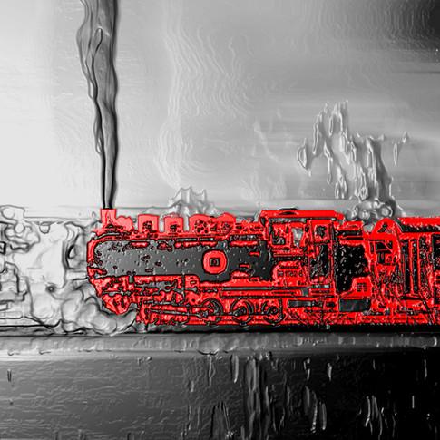 Anna Kasten | Dampflock | 2020 | Inkjet Karton | 29,7 x 21 cm | 80 Euro