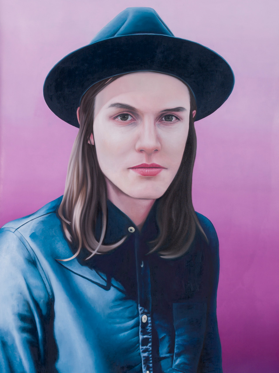 Michael Klipphahn | Boy | 2015 | Öl auf Papier | 100 x 70 cm