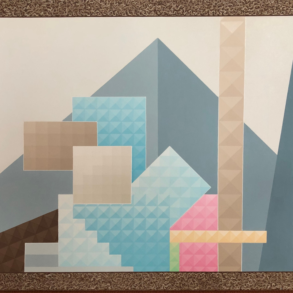 Harald Gallasch | Konzentration |1995 | Acryl auf Leinwand | 60 x 90 cm | 2900 Euro
