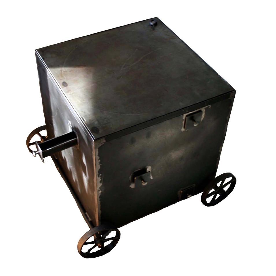 Thomas Ranft   Objekt   Geheimschrank mit Eisenradierung   Eisen   Ausführung auf Wunsch