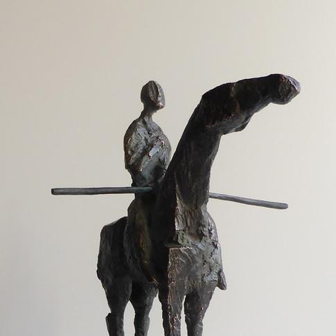 Michael Jastram | Kleines Reiterdenkmal | o.J. | Bronze | 8/22 | 4200 Euro