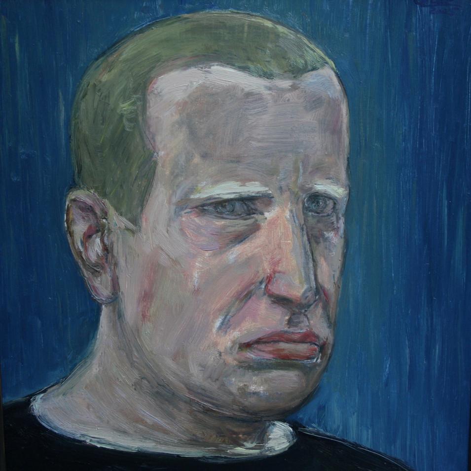 Hubertus Giebe | o.T. | 2005 | Ölfarbe auf Leinwand | 46 x 44 cm | 3200 Euro