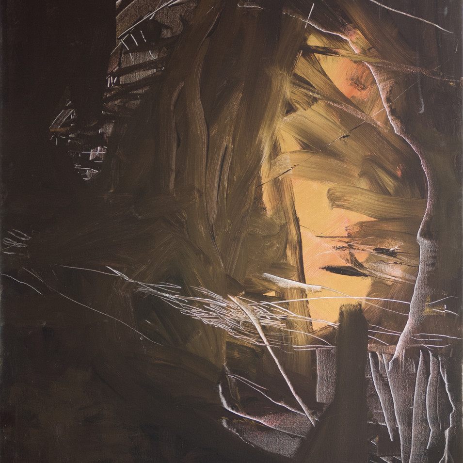 Vivien Nowotsch | Lichteinfall | 2010 | Acryl, auf Leinwand | 100 x 80 cm | 1930 Euro
