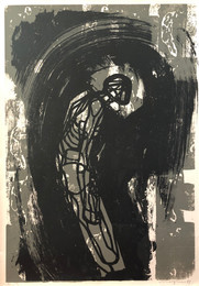 Michael Morgner | o.T. | 1974 | Siebdruck | e.A. | 75 x 53 cm | 500 Euro