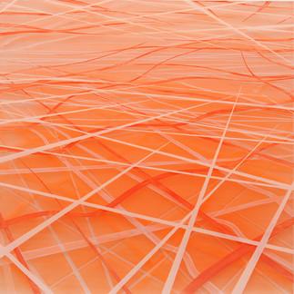 Achim Zeman | Orange 01 | Acrylglas | 30 x 30 cm | Anfrage