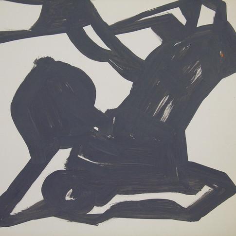 Wolfgang Opitz |o.T. | 2019 |Malerei auf Papier | 35 x 46 cm | 250 Euro