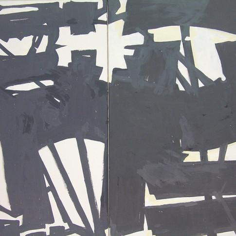 Wolfgang Opitz | o.T. | 2019 | Malerei auf Leinwand |80 x 230 cm |3400 Euro