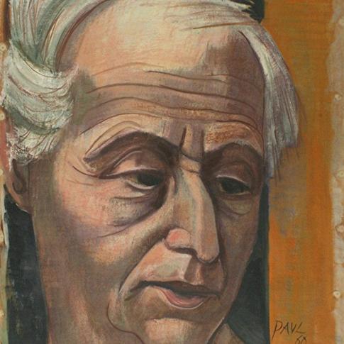 Georg Paul I Max Ernst I 1960 I Öl auf Leinen I 61 x 49 cm I 2200 Euro