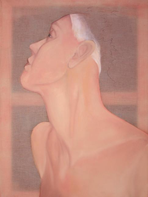 Rothenbücher, Marie-Christin | Frauenbildnis | 2014 | Öl auf Nesselstoff | 50 x 70 cm | 1080 Euro
