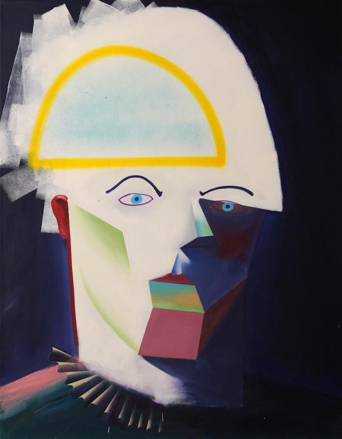 Philipp Weber | Weißer | 2012 | Acryl auf Leinwand | 69 x 90 cm | 1750 Euro
