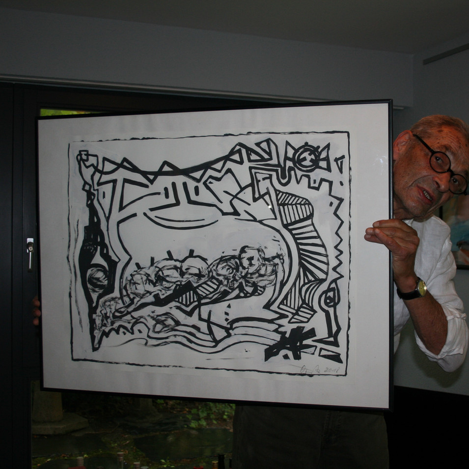 Wolfgang Opitz | Metamorphose 2 | 2018 | Acryl auf Papier | 60 x 75 cm | 1800 Euro