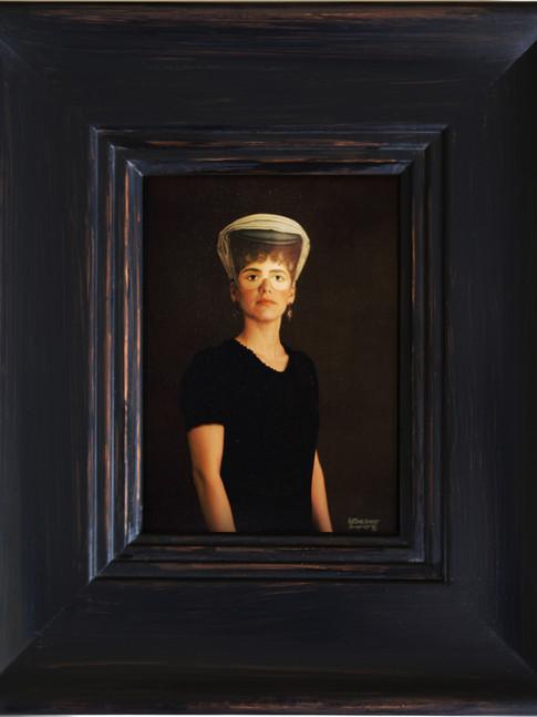 Anna Herrgott | FIVE WOMEN - Miss in Green m.R. | 2008 | Fotografie | 33 cm x 28 cm Auflage 5