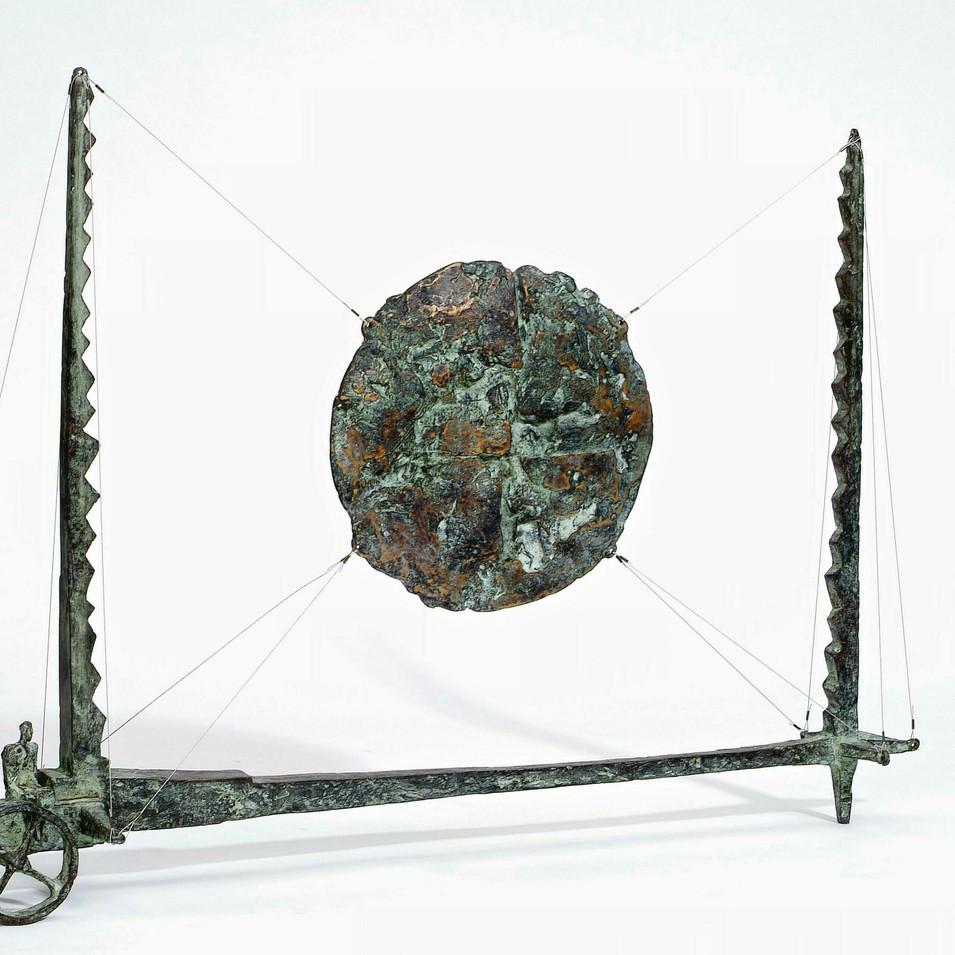 Michael Jastram | Sonnenwagen | 2007 | Bronze | 4/6 | 61,5 x 88 x 19 cm | 9600 Euro