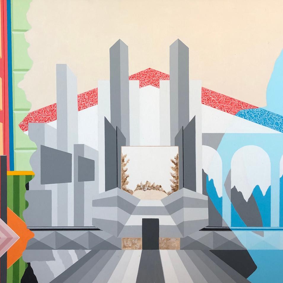 Harald Gallasch | o.T. | 2006 | Acryl auf Leinwand |100 x 70 cm | 3300 Euro