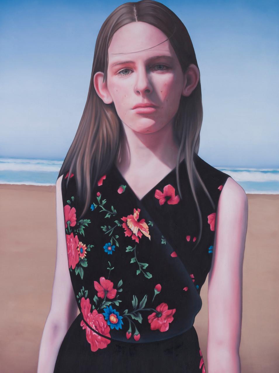 Michael Klipphahn | Celine | 2015 | Öl auf Papier | 100 x 70 cm (Privatsammlung) | verkauft