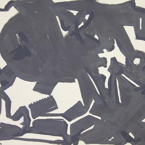 Wolfgang Opitz | o.T. | 2019 | Malerei auf Papier |35 x 46 cm |250 Euro
