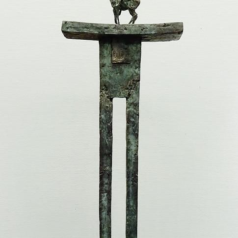 Michael Jastram | Jeanne d'Arc | 2015 | Bronze | 2/6 | Höhe 127 cm | 12800 Euro