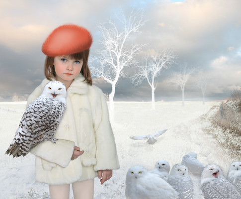 Oxana Jad | The winter dream I | 2009 | Fotografie, Lampda Fotografie, kaschiert auf Alu-Diapond Platte | Limited Edition 5 + 2 | 40 x 70 cm | 880 Euro