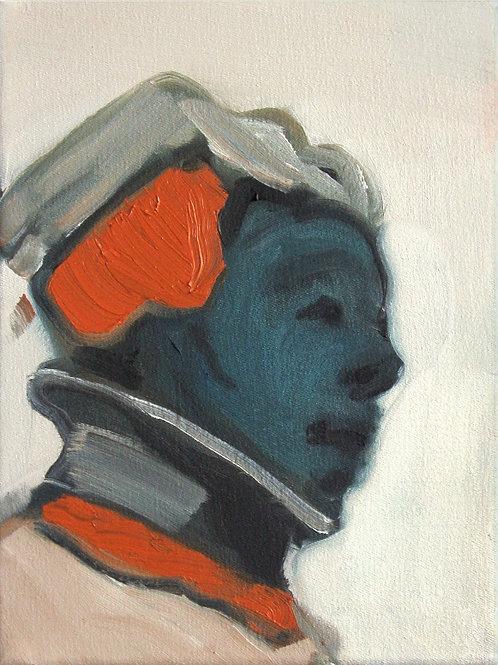 Frauenkopf (nach Holbein)