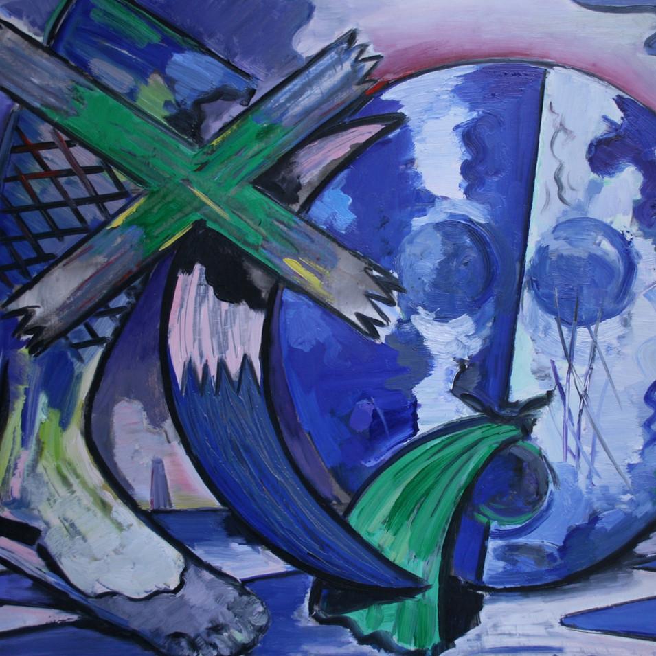 Hubertus Giebe | o.T. | 2002 | Ölfarbe auf Leinwand | 71 x 91 cm | 5700 Euro