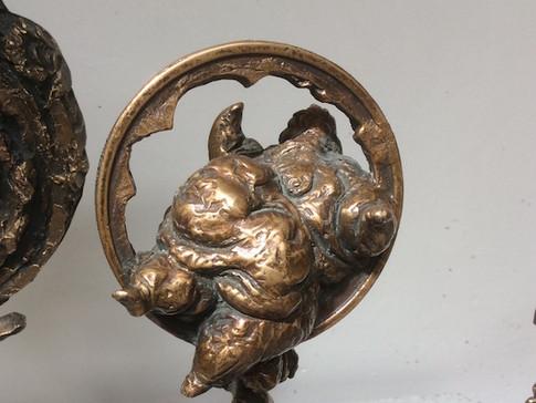Jochen Schamal | Zinseszins | Bronze | 2011 | h - 41 cm | 900 Euro