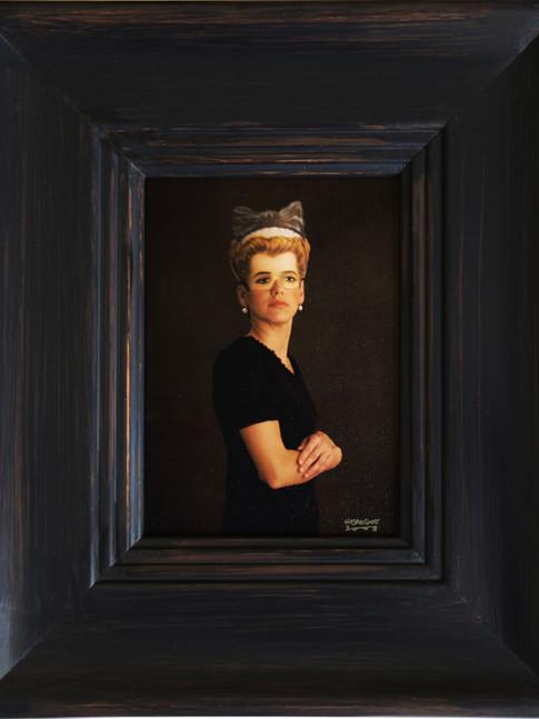 Anna Herrgott | FIVE WOMEN - Miss in Grey m.R. | 2008 | Fotografie | 33 cm x 28 cm | Auflage 5